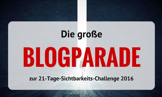 Blogparade-Challenge